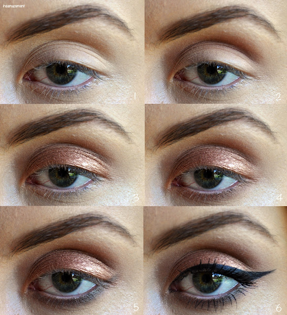 Bronze and Khaki Eye Makeup Tutorial