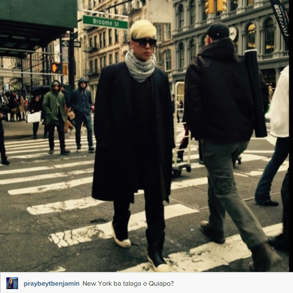 Stylish Vice Ganda walks on the streets of New York