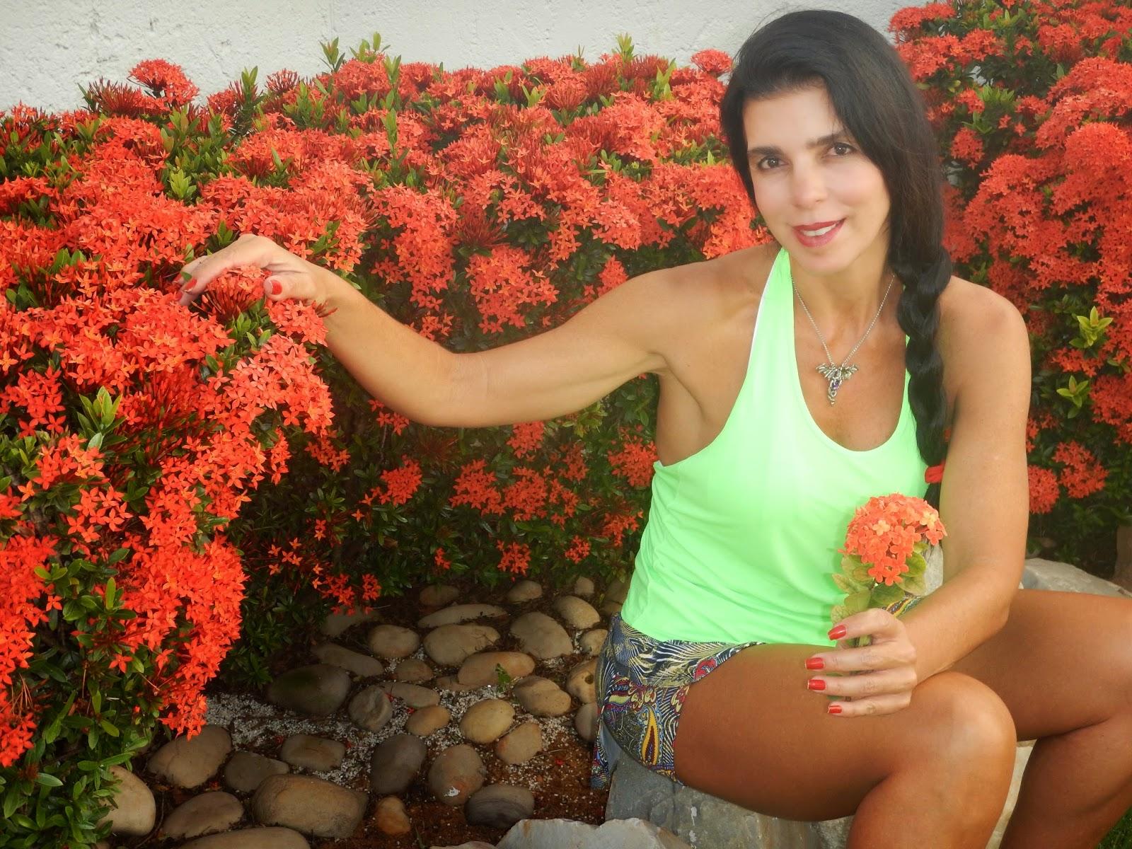 flores jardim ano todo : flores jardim ano todo:Blog da Adriana Alvim: Ixora – jardim florido e protegido
