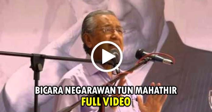 Video Penuh Bicara Negarawan bersama Tun Mahathir, 25 April 2015