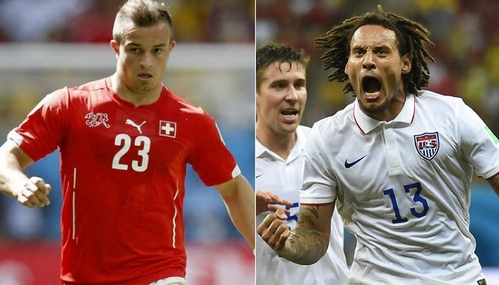 Suiza vs Estados Unidos en vivo