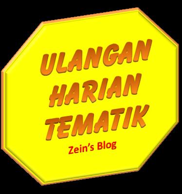 Latihan Ulangan Harian Tema 3 Subtema 2 Mister Zain S Simple Blog