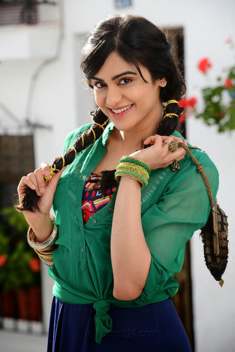 Heart Attack Telugu Movie Heroine Name Adah Sharma cute pics ...