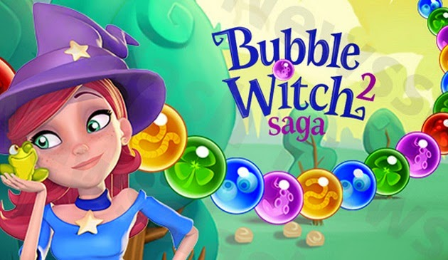 Game Bubble Witch 2 Saga