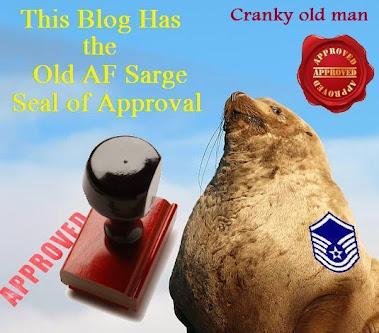 Old AF Sarge Award