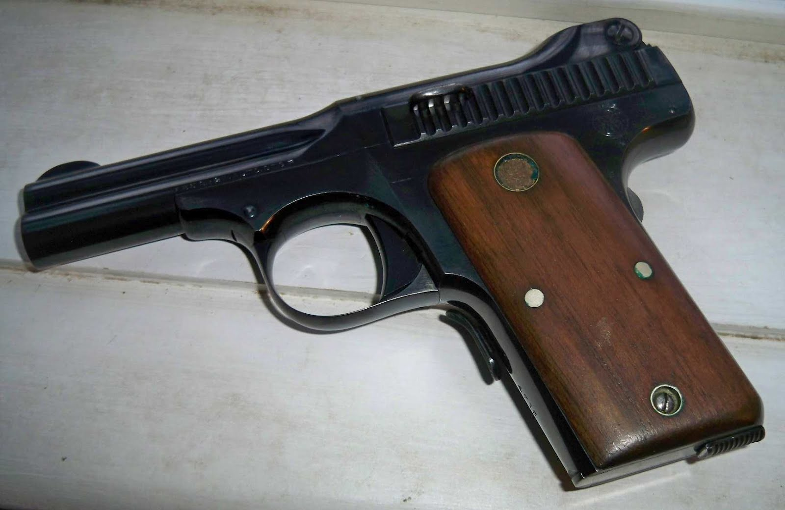 The Arms Room: Sunday Smith #51:.35 Semi-Automatic Pistol, 1919