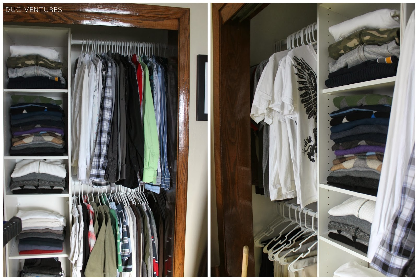 So For Under $100, I Was Able To Create A Much More Functional U0026 Usable  Closet Space: