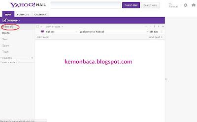 tampilan email dalam cara membuat email