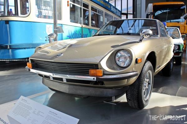 Datsun 260 Z at Deutsches Museum Verkehrszentrum