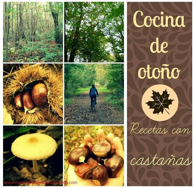 Cocina de otoño:recetas con castañas / Fall cuisine: chestnut recipes / Cuisine d'automne: recettes avec des châtaignes