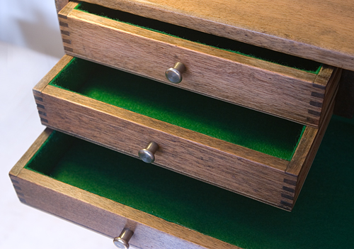How to Replace the Felt or Baize in a Toolbox Drawer Engineer\u0027s Cabinet or Jewellery Box & The Hessian Sack: How to Replace the Felt or Baize in a Toolbox ...