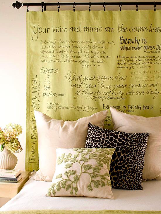 Un toque vintage cabeceros de cama en nuestra decoraci n - Cabecero de cama original ...