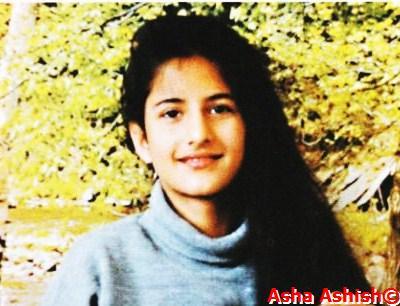Asha Ashish: Katrina Kaif's adorable childhood pictures