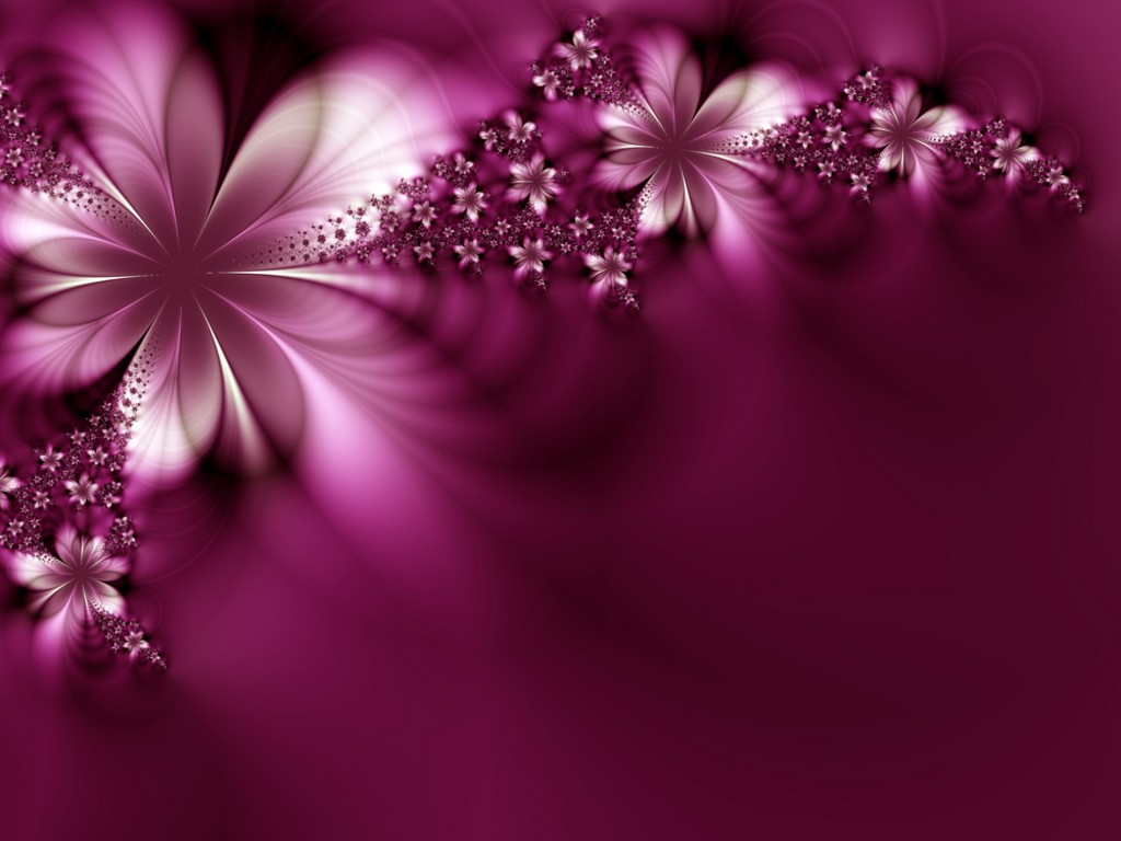 Abstract Flower Desktop Wallpaper Free