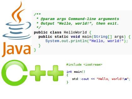 How to write java programming language