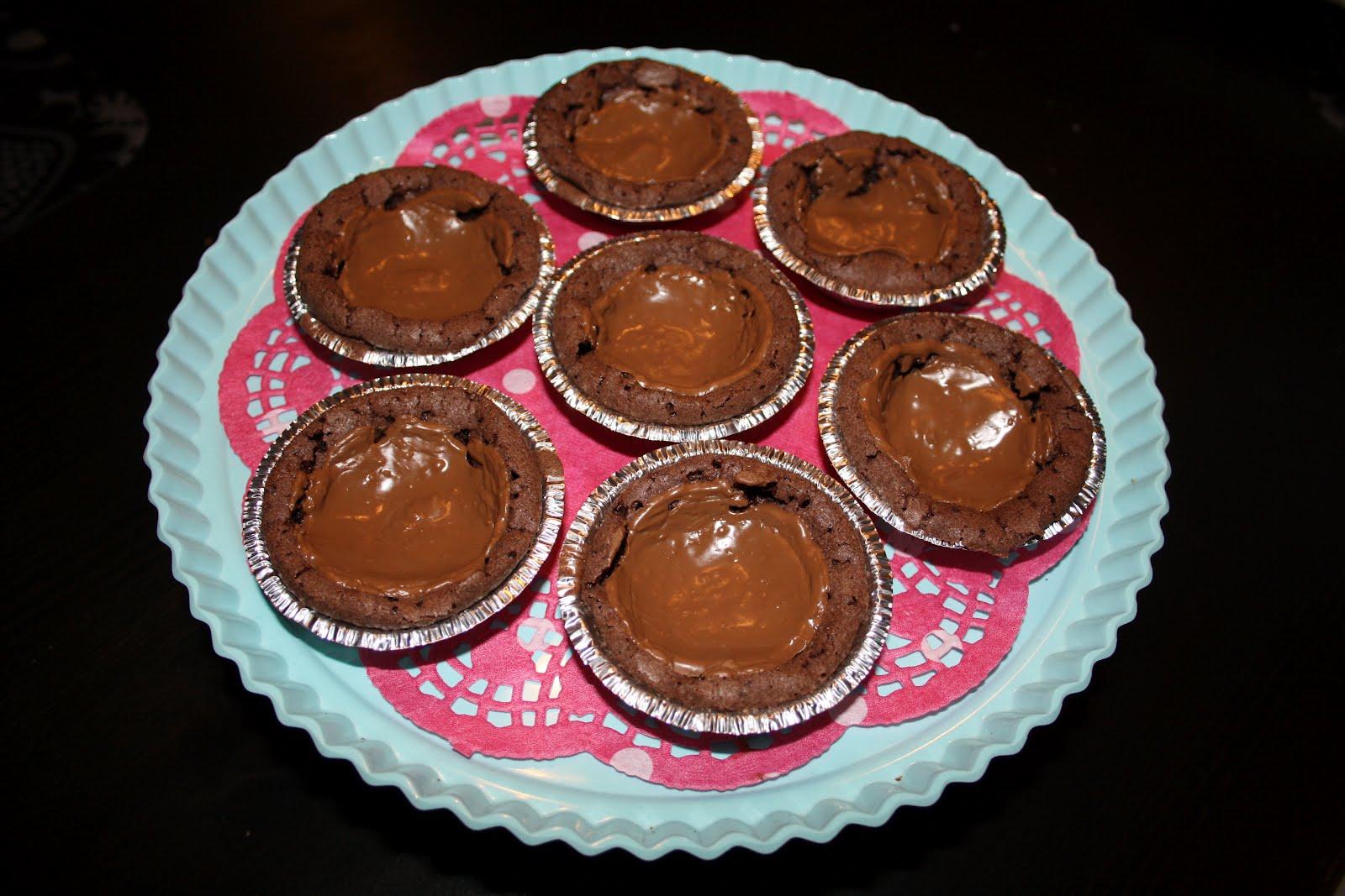 chokladmuffins med dumle