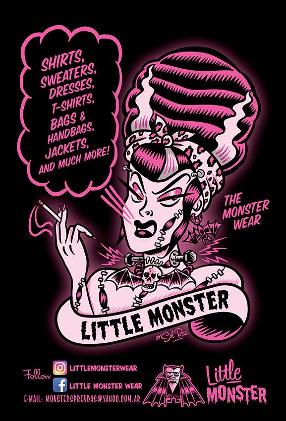 Flyer Little Monster wear