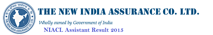New India Assurance Assistants exam result
