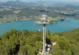 Menara Pyramidenkogel, Austria