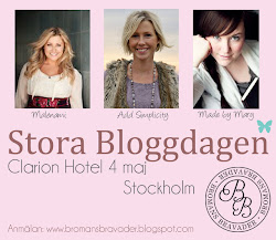 Vi sponsrar Stora Bloggdagen 2013!