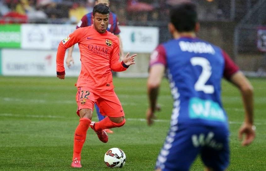 Eibar 0-2 Barca (Spanish League)