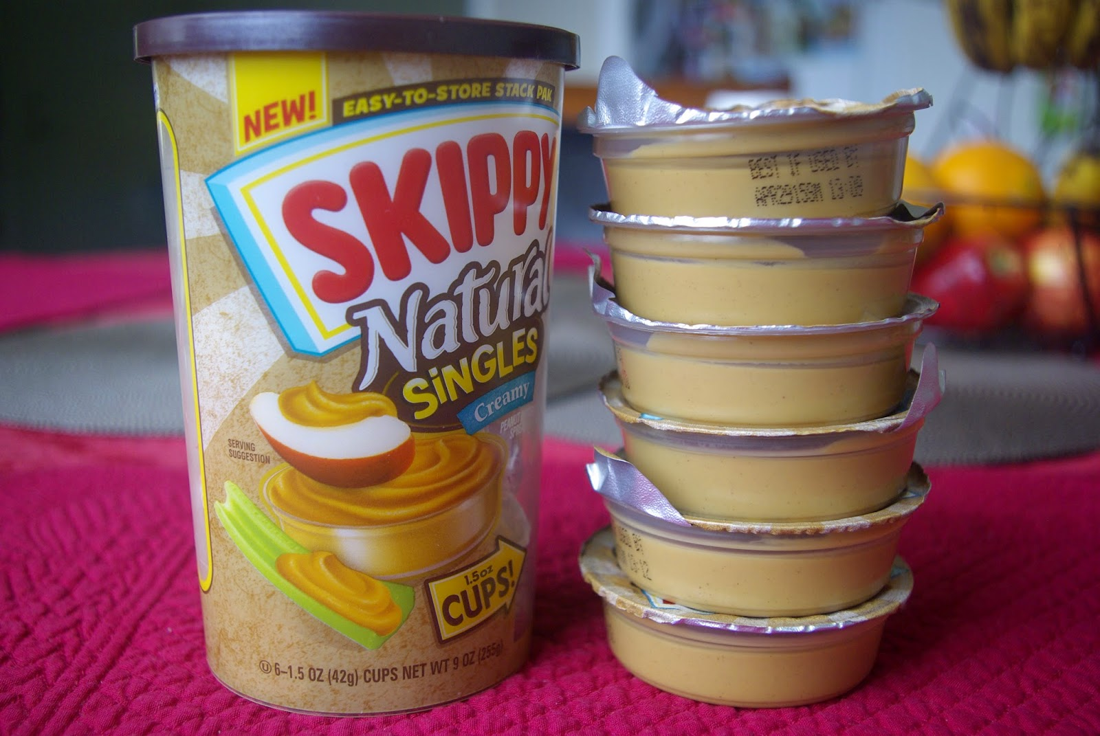 Skippy Singles - Quantity and Size