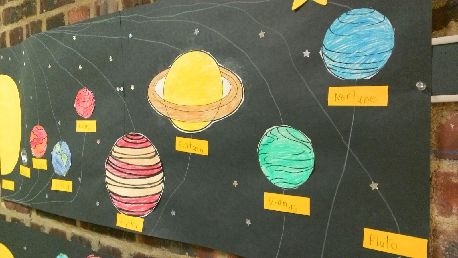 paper solar system - photo #5