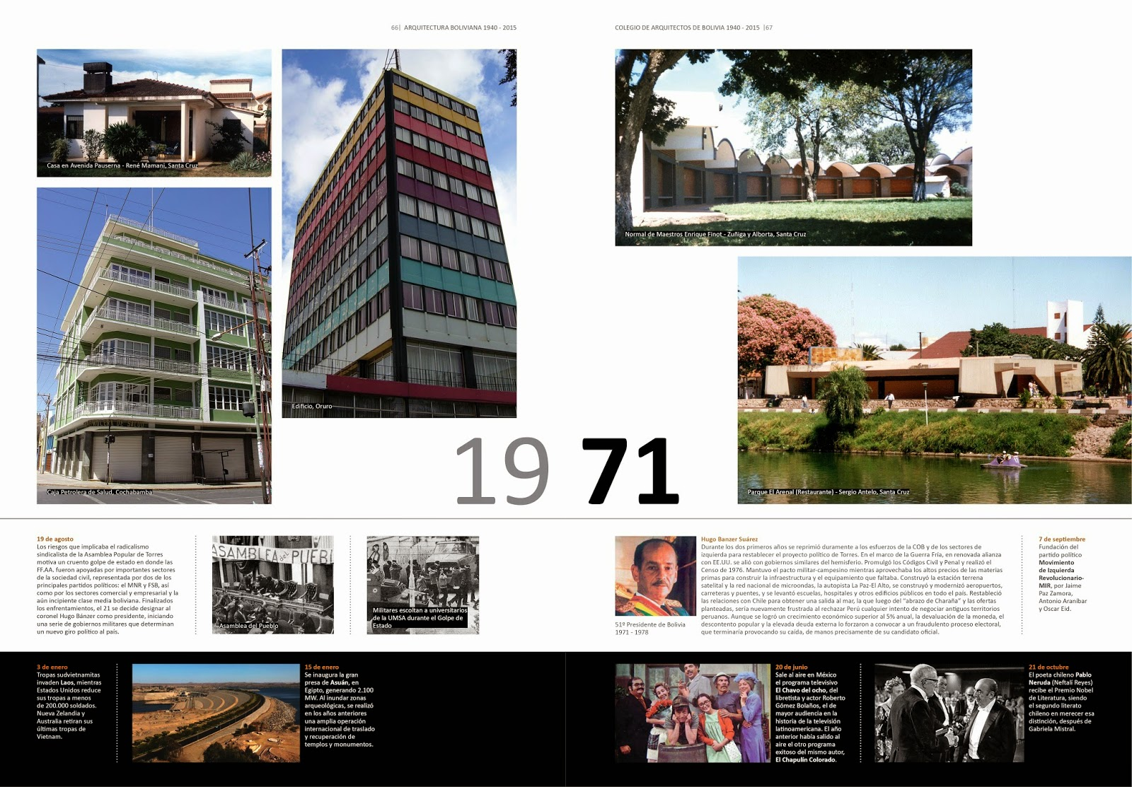 Victor hugo limpias libro arquitectura boliviana 1940 2015 for Arquitectos de la arquitectura moderna