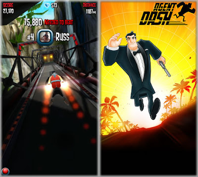 iphone 5 game agent dash HD
