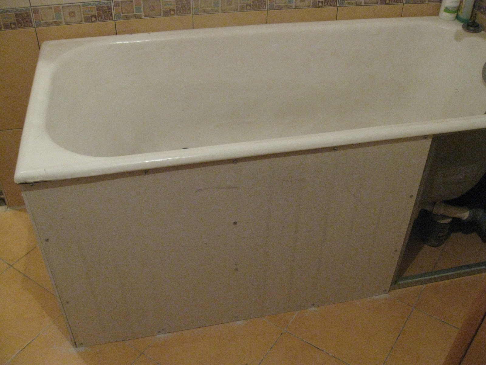 Экран под ванну из дсп своими руками
