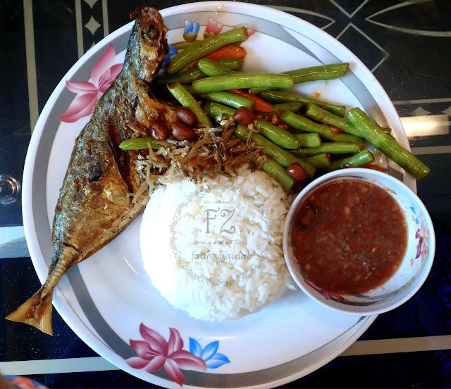 hajah basiroh , makanan halal vietnam