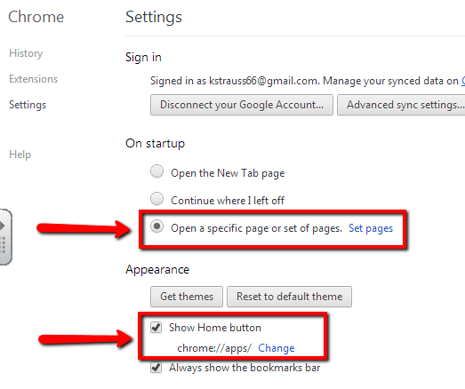 how to add apps to chrome apps page