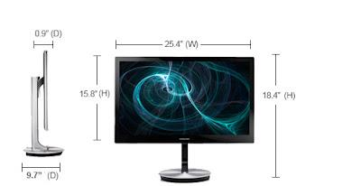 "Samsung Series 9 27"" Monitor (S27B970D)"