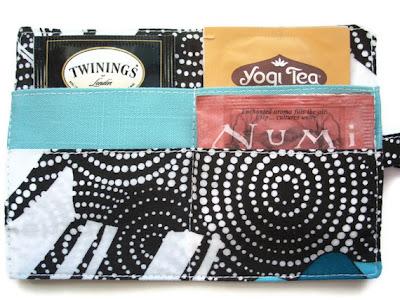 Tea Wallet Tea Bag Holder