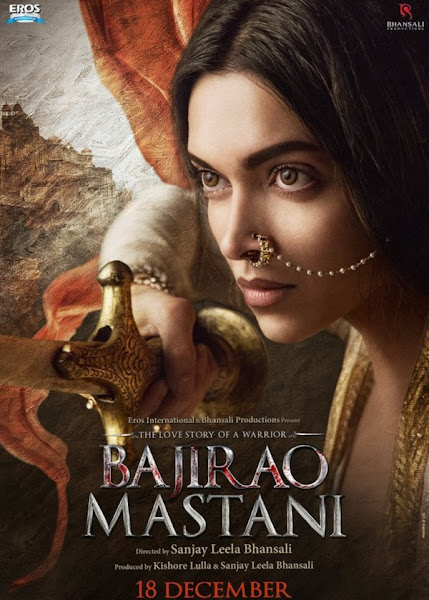 Poster Of Bajirao Mastani 2015 480p DVDScr Hindi