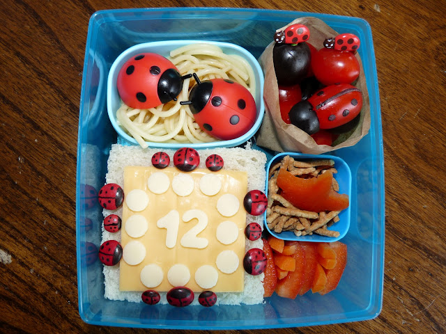 ladybug picnic bento lunch