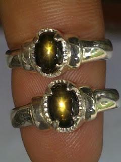 golden star sapphire