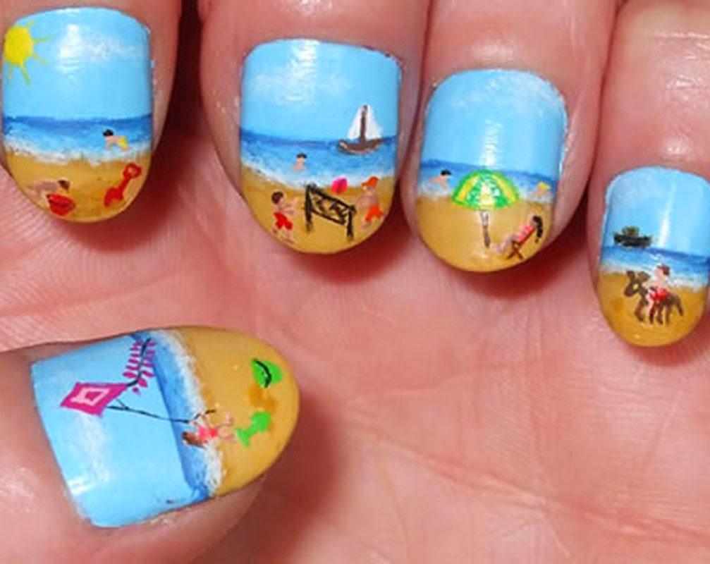 Snazzy Summer Nails Art 2014-2015http://nails-side.blogspot.com/