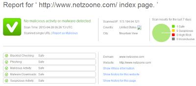 Comodo Web Inspector
