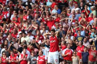 Olivier Giroud Arsenal Fans Frustration