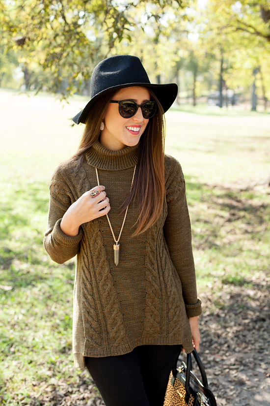 Here&Now: Old Navy cable knit sweater