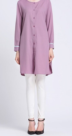 NBH0519 JADIRAH BLOUSE (NURSING FRIENDLY)