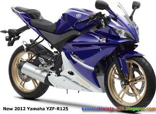 2012 Yamaha YZF-R125
