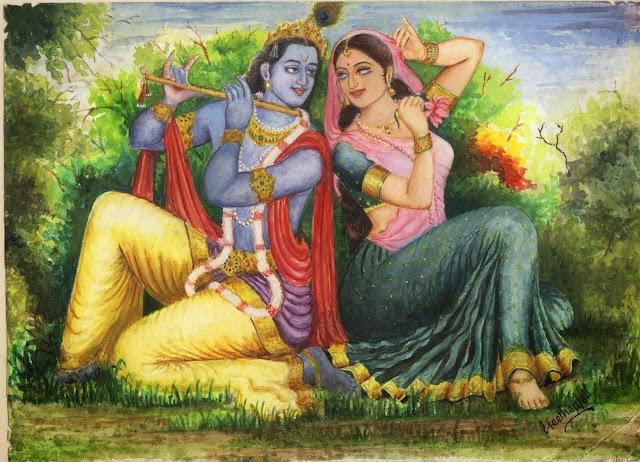 radha krishan wallpaper