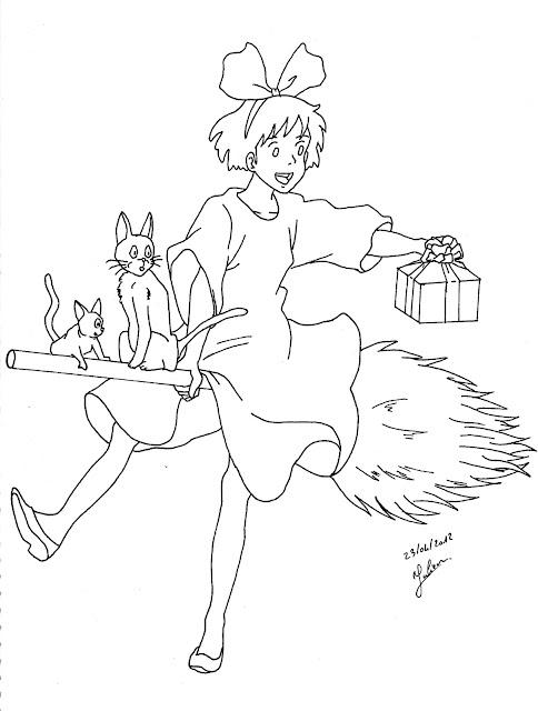 JujuGribouille Kiki la petite sorcière