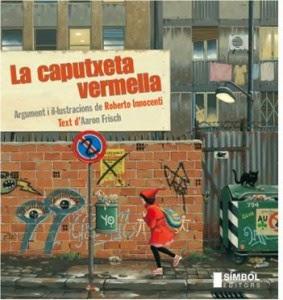 Portada llibre infantil La caputxeta vermella