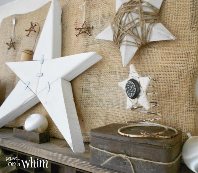 DIY Rustic Star Inspiration | Denise on a Whim