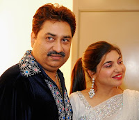 Kumar Sanu with Alka