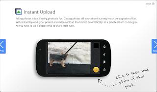 Google+ Instant Uploads