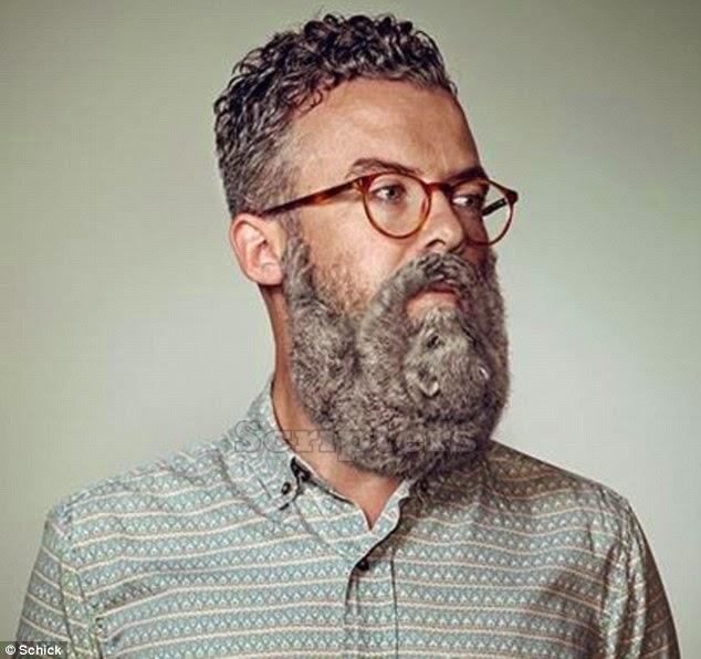 Gambar Lelaki Yang Mempunyai Janggut Pelik